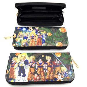 The Legendary Saiyan Fighters Long Wallet