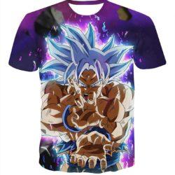 Kong Fu Kid Goku Amazing DBZ T-Shirt