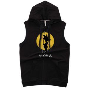 Dragon Ball Saiya Jin Sleeveless Hoodies