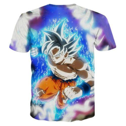 Dragon Ball Z Goku the Super Saiyan Summer Tee - back