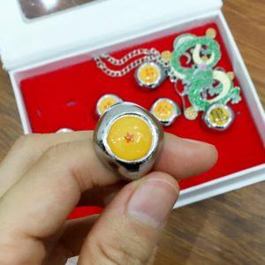 Anime Dragon Ball Z Necklace & Ring 10PCS/Set