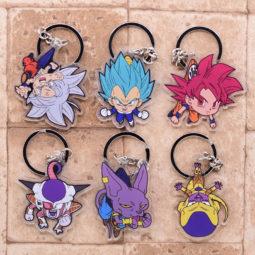 Cute Dragon Ball Anime Cartoon Pendant Key Chains