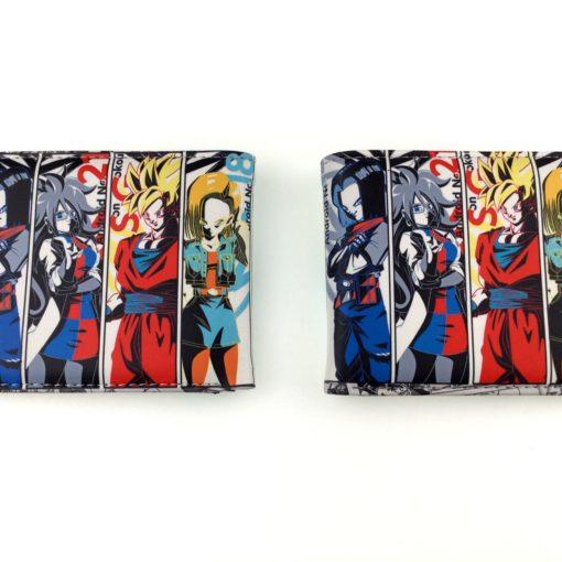Dragon Ball Characters Bi-Fold Long Wallet
