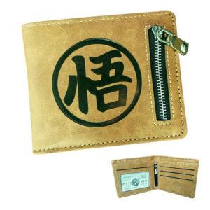 DBZ GO Kanji Symbol Zipper Wallet
