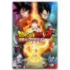 "Dragon Ball Z Resurrection ""F"" Classic Anime Silk Art Poster"