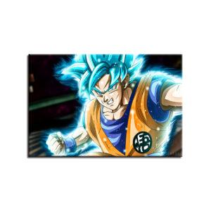 Dragon Ball Z Super Saiyan Goku HD Cartoon Poster