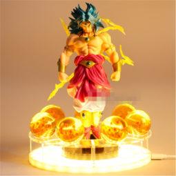DBZ Legendary Super Saiyan Broly Dragon Ball Fantastic DIY 3D Light Lamp