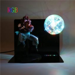 Super Saiyan Gotenks Kamehameha Wave DIY 3D Light Lamp