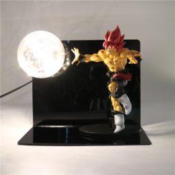 Anime Dragon Ball Z Super Saiyan Goku Action Figure Lamp