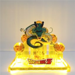 DBZ Green Shenron Dragon Balls DIY 3D Light Lamp