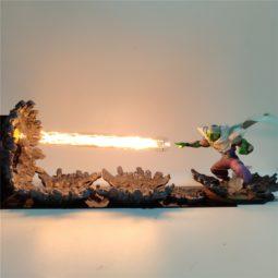 DBZ Piccolo Deathly Wave 3D DIY LED Light Lamp
