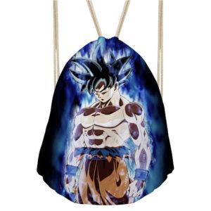 Powerful Goku Dragon Ball Drawstring Bag