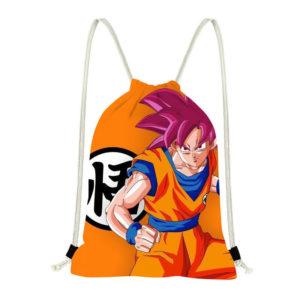 Son Goku Go Dragon Ball Drawstring Bag