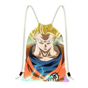 Son Goku Dragon Ball Drawstring Bag