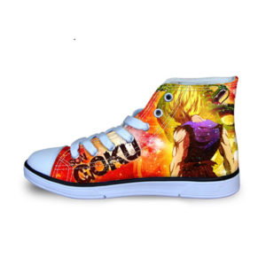 DBZ Super Saiyan Goku Canvas Shoes