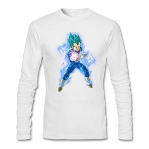 Dragon Ball Z Vegeta Long Sleeve T-Shirt
