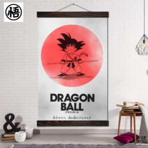 Japan Anime Dragon Ball Wall Scroll Art Decor