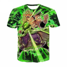 Dragon Ball Z Broly Goes Nuts 3D Summer Tee