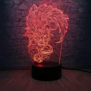 Dragon Ball Saiyan Son Goku Dragon Ball Kakarotto LED Night Lamp