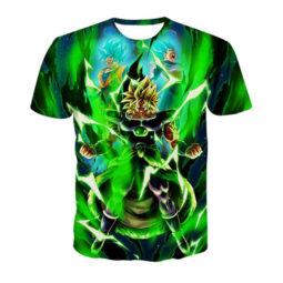 Dragon Ball Z Super Brolly Short Sleeve T-Shirt