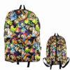 Anime Dragon Ball Z Super Saiyan Characters Nylon Backpack