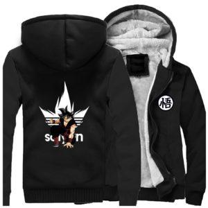 Super Saiyan Goku Dragon Ball Winter Jacket