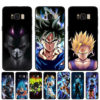 DBZ Black Silicone Case Covers For Samsung Galaxy