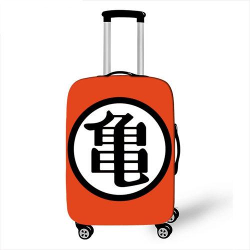Dragon Ball Kanji Symbol KAME 18-32 Inch Luggage Cover