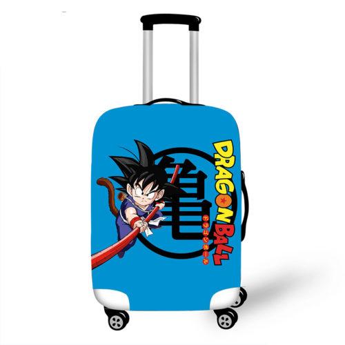 Dragon Ball Goku Kid Fighting Suitcase Elastic Protective Covers