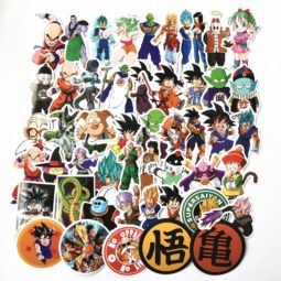 Dragon Ball Stickers For Snowboard Luggage Car Fridge Laptop 50Pcs