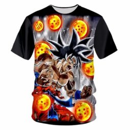 Goku and the Dragon Balls 3D O-Neck T-Shirt