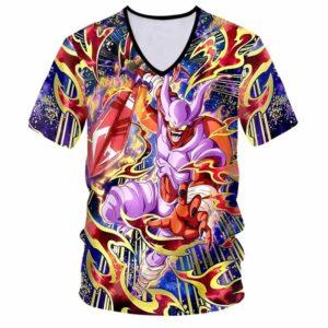 Dragon Ball Z Villain 3D V-Neck T-Shirt