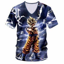 Dragon Ball Z Goku Kakarot 3D V-Neck T-Shirt