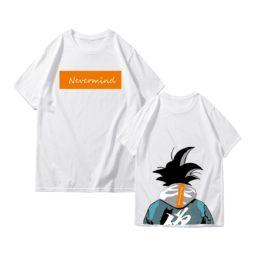 Dragon Ball Z Never Mind Short Sleeve Cotton Tee