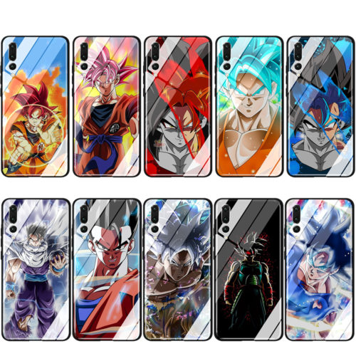 Dragon Ball Z Super DBZ Glass TPU Cases for Huawei Mate 20 P10 P20 P30 Y6 Y9 P smart lite Pro 2018 2019