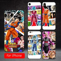 DBZ Phone Matted TPU Hard Cover Cases for iPhone 5 5s se 6 6s 7 8 plus XR XS Max