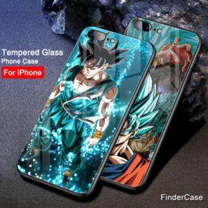 Dragon Ball Z Super Saiyan Phone Cases for iPhone XS MAX 6 6S 7 8 plus X XR XS MAX 11 Pro Max