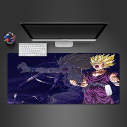 Dragon Ball Z Screaming Gohan Computer Desk Mats Gaming Mouse Pad