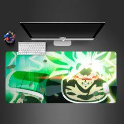 Dragon Ball Z Broly Computer Desk Mats Gaming Mouse Pad