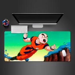 Dragon Ball Z Angry Krillin Gaming Mouse Pad Practical Computer Desk Mats