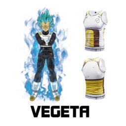 Dragon Ball Vegeta Anime Cosplay 3D Tank Top