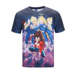 Dragon Ball Vegeta The Super Saiya Jin T-Shirt