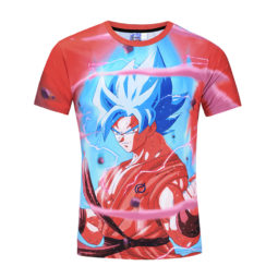 Dragon Ball Son Goku Whis Symbol 3D T-shirt