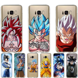 DBZ Phone Cases for Samsung Galaxy S6 S7 Edge S8 S9 Plus Note 8