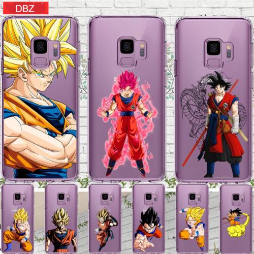 Dragon Ball Soft Silicone Cases For Samsung Galaxy Grand Prime S6 S7 Edge S8 S9 Plus Note 8