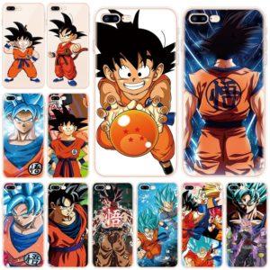 Dragon Ball Super Cases For iphone 7 7Plus 8 Plus 6 6S Plus X 11 Pro XS XR Max 5 5S SE