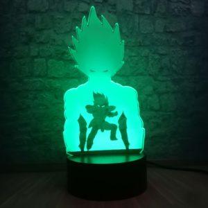 Dragon Ball Goku Super Saiyan Action Figure 3D LED Night Light