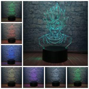 Dragon Ball Superhero Son Goku 3D LED Lamp