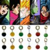 Super Dragon Ball Z Vegetto Potara Black Son Goku Cosplay Rings