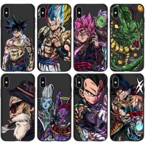 Japan Dragon Ball Super Son Goku DBZ Phone Covers for iPhone 11 Pro Max